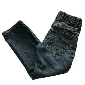 Osh Kosh 4T Straight Leg Adjustable Zip Fly Jeans